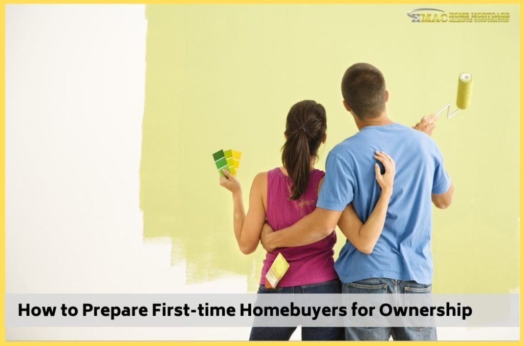 How to Prepare First-time Homebuyers for Ownership